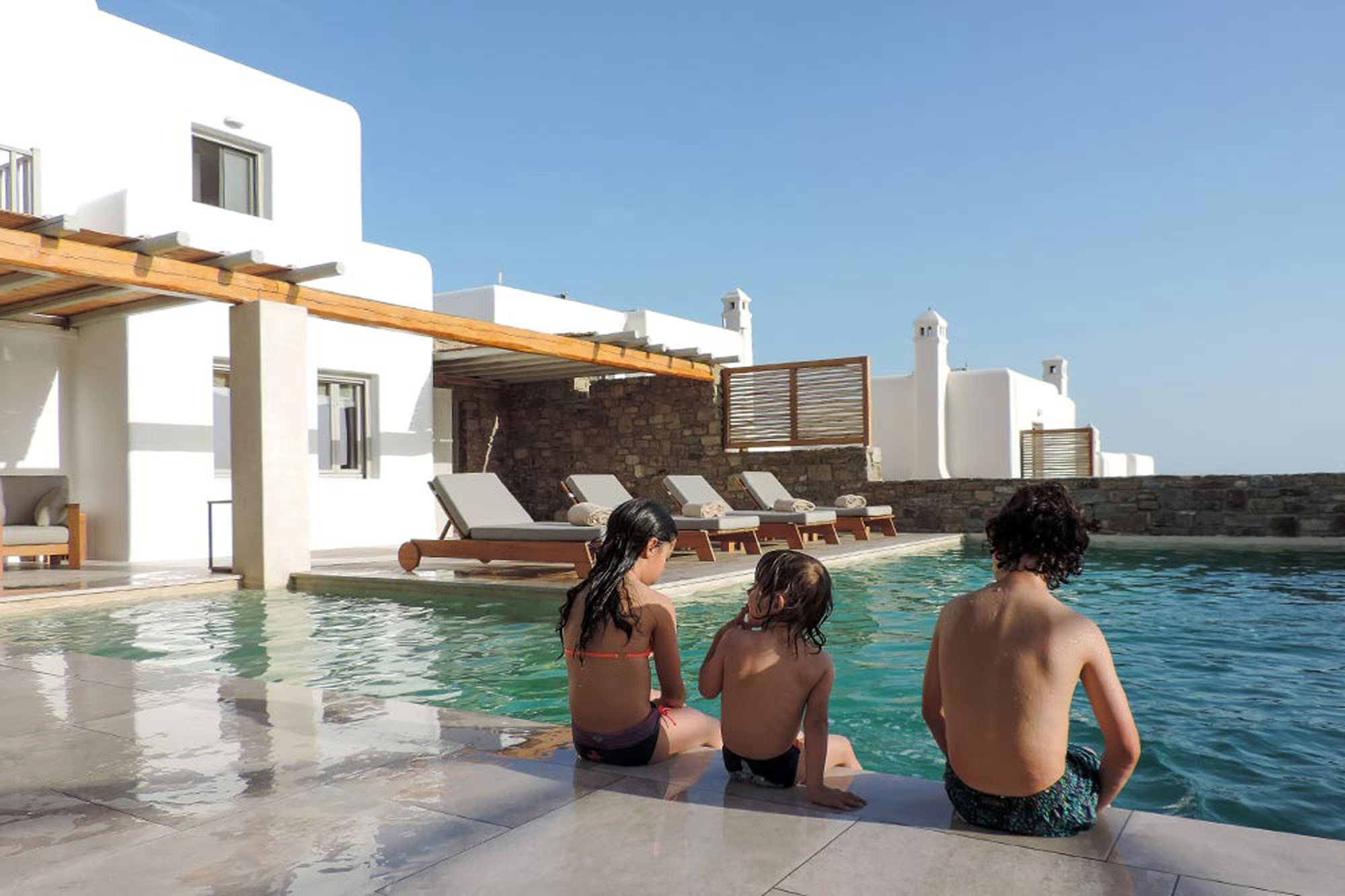 Top 5 Family Villas in Mykonos